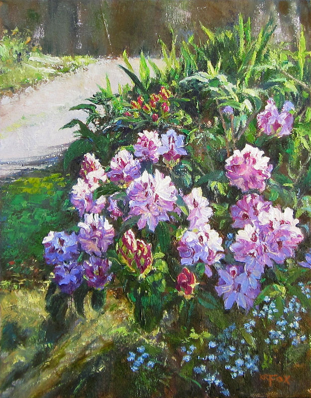 Rhodies on the Hill