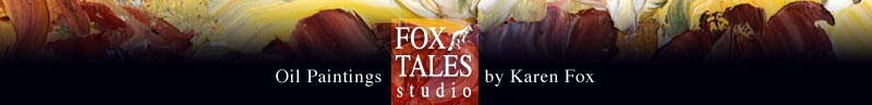 Fox Tales Studio, Oil Paintings by Karen Fox